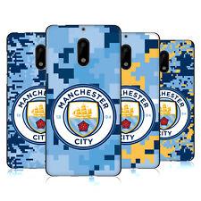 MAN CITY FC DIGITAL CAMOUFLAGE BLACK SOFT GEL CASE FOR MICROSOFT NOKIA PHONES