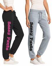 Sassy Pants Ladies Girl Sweats Woman Funny Gift Hot Pink Comfort Moody Cold
