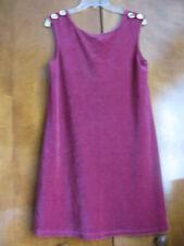 Juicy Couture Women's Mustique Cotton Velour Shift Dress Size Medium XLarge NWT