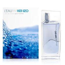 L'eau Par Kenzo Pour Homme Cologne Men Perfume 3.4 oz 100 ml Edt Spray Fragrance