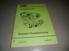 Technische Information Ford Sierra 1,8 CVH Motor 3/1989