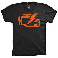 Check Engine Light t-shirt car and racing shirt jdm tshirts import tees