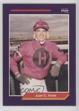 1992 Horse Star Jockey Cards #273 Juan C Vives MiscSports Card