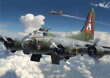 28cm x43cm B17G Cutaway Military Aircraft Mini Poster 11inx17in