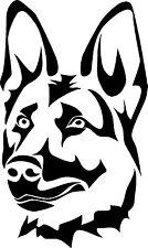 German Shepherd dog k9 vinyl decal sticker
