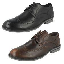 Mens Maverick Lace Up 'Brogue Shoe'