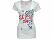"""Ole Miss Rebels NCAA Hurley """"Burst"""" V T-Shier"""