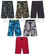 Burnside Mens Board Shorts, Swim, Slalom, Ski, BLACK or GREEN, 30 32 34-40 b9371