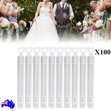 Wedding Bubble Tube Wands Empty Tubes for Festive Birthday Party AU