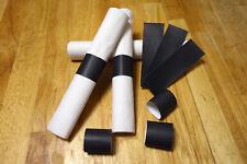 Black Self-Adhesive Paper Napkin Rings/Bands