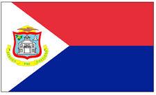 ST.MAARTEN DRAPEAU (CARIBÉENNES) - SOUVENIR AIMANT DE RÉFRIGÉRATEUR NOUVEAUTÉ