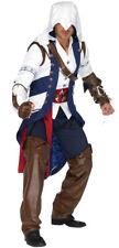 Assassin's Creed Connor EZIO Ninja  Outfit Licensed Halloween Costume Adult Men!
