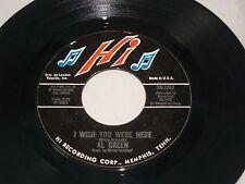 Al Green:  I Wish You Were Here / L-O-V-E  [Unplayed Copy]