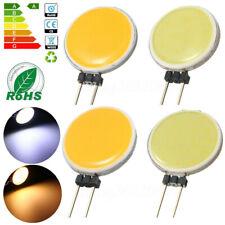 G4 LED Chip COB Light 5W 10W 15W 20W DC 12V Headlight Round Lamp Cool/Warm White