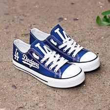 Los Angeles Dodgers Unisex Shoes, Baseball, Printed Shoes, Dodgers Baseball MLB