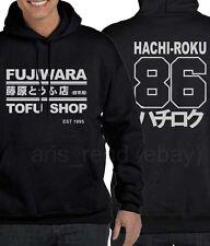 Takumi Fujiwara Tofu Shop Delivery AE86 Initial D Manga Hachi-Roku Men Hoodie