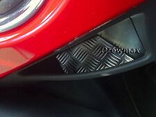 Fiat 500 TAPPETINO ALLUMINIO per portaoggetti laterale TUNING accessori fiat