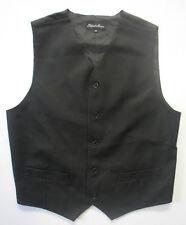 Adults Mens Womens Unisex Wedding Occasional Black Formal Smart Button Waistcoat