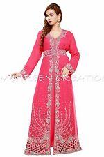 MAGHRIBI DUBAI ABAYA JALABIYA JILBAB ISLAMIC ARABIAN WOMEN CLOTHING EDH  5029