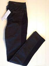 New Calvin Klein Jeans Black Womens Sz 8 or 10 Lean Fit Below Waist Skinny Legg