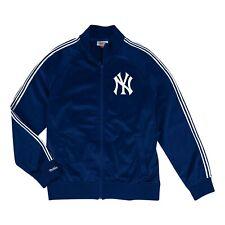 0c77be0101a New York Yankees Mitchell   Ness MLB Full Zip Track Jacket - Navy
