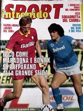 Intrepido 40 1985 con poster del BARI e del PISA + poster MILAN 1985