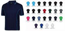 Mens Polo Contrast Shirt Size S M L XL 2XL 3XL 4XL 5XL Short Sleeve 25 Colours