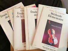 Marcel Hauchard École du violon éditions Leduc méthode
