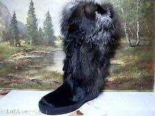 Lackner Stiefel Boots Winter Damen Schuhe schwarz