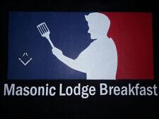 Masonic Lodge Breakfast Shirt Major League Baseball Freemason Square and Compass