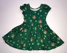 Christmas BaHumbug Twirl Girls Dress 5/6 7 8/10 12/14