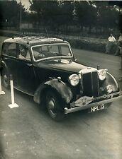 RALLYE INTERNATIONAL GASTRONOMIQUE  voiture  ( 17 )   (grande photo 30 X 24 CM )