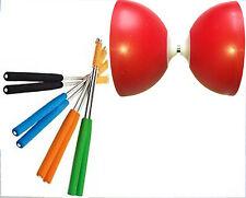 HENRYS JAZZ Diabolo rosso con Tuning Kit da diabolonet + henys alustäbe 325 WS