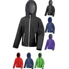 Kid Children Junior Result Core TX Performance Hooded Softshell Jacket