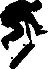 "ADESIVO STICKERS DECAL "" SKATER "" STATEBOARD SKATE SPORT MOTO AUTO TRICK SALTO"