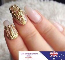 10pcs 3D Hot Hollow Nail Art Alloy Decoration Jewelry Glitter Rhinestone Gift EY