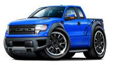 2010-14 Ford SVT Raptor Truck F150 Car-toon Art Print NEW