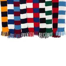 Premier League Team Striped Football Scarf Knitting Pattern Wool Craft Hobby Kit