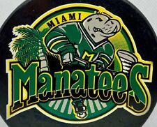WHA2 Miami Manatees Hockey Embroidered T-Shirt S-6XL, LT-4XLT New
