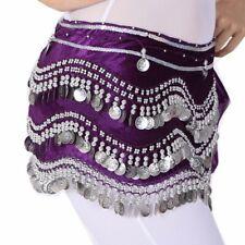 Belly Dance Costume Skirt velvet Hip Scarf Tribal Triangle Belt Halloween skirt