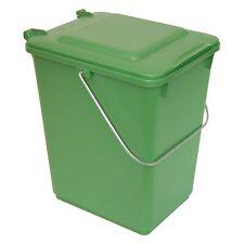 Cubo de plástico fuerte 10 L tapa y mango Sulo BIOBOY Verde, Laudry (22061)