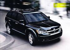 2009 Dodge Journey 24-page Car Sales Brochure Catalog Book SXT RT R/T