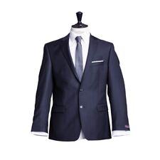 atelier torino Business Sakko Prestige Dunkelblau Uni Classic Fit 100%Schurwolle