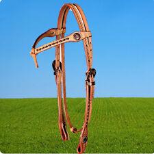 ProLine Western Kopfstück Old Style Harness Headstall, Show Western Trense