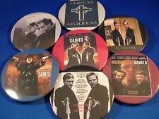 Set 2 The Boondock Saints Lot of 7 Buttons pins Set #2