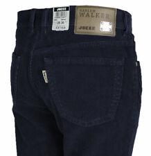 JOKER Herren Kord Jeans | Harlem Walker ( Comfort Fit ) dunkelblau