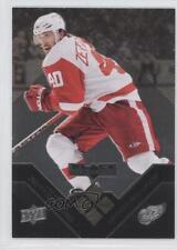2008 Upper Deck Black Diamond Gold #174 Henrik Zetterberg Detroit Red Wings Card