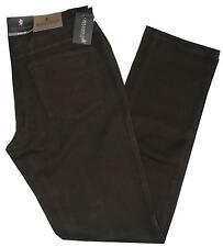 Pantalone uomo cotone caldo modello jeans tela strech taglia da 46 a 62 marrone