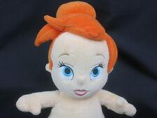 DISNEY BABIES LITTLE MERMAID ARIEL  RED HAIR PLUSH STUFFED ANIMAL TOY