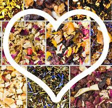 Fruit Tea Blends Strawberry Pinepple Loose Leaf, Tea Mix Black Tea, Green Tea